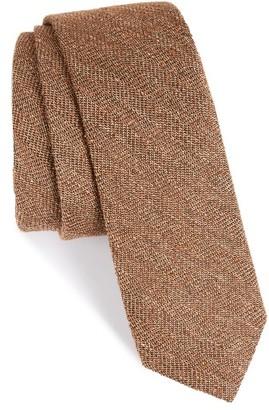 Men's The Tie Bar Zigzag Silk Tie $19 thestylecure.com