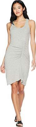 Splendid Women's Shirred Dress Grey