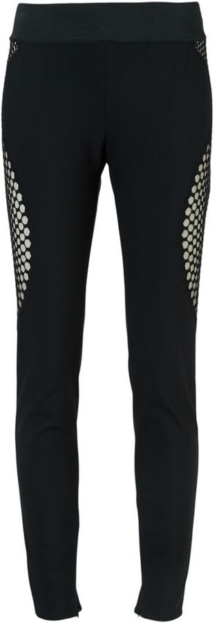 Stella McCartney Stella McCartney honeycomb effect leggings