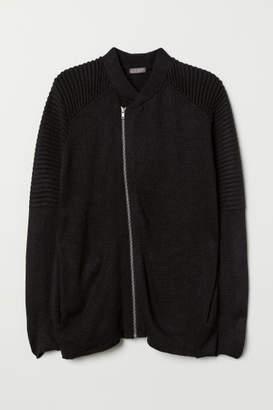 H&M Biker Cardigan - Black