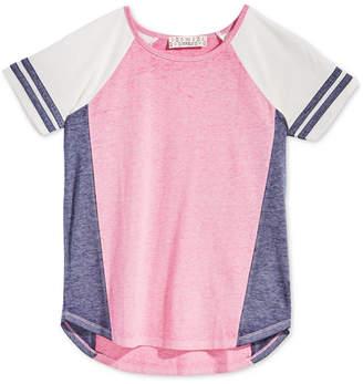 Pink Republic Big Girls Colorblocked Raglan T-Shirt