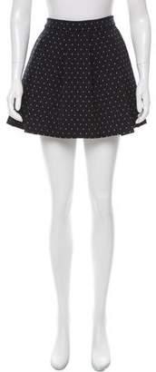 Thakoon Addition Polka Dot Pleated Skirt