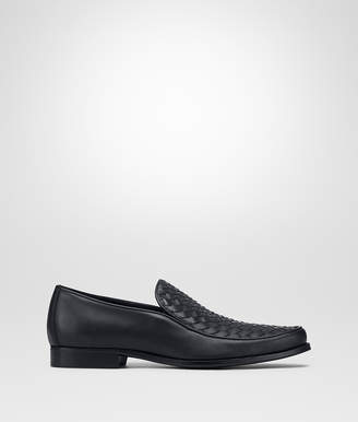 Bottega Veneta DARK NAVY CALF ANWICK SLIP ON