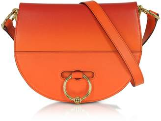J.W.Anderson Gradient Tangerine Leather Latch Bag