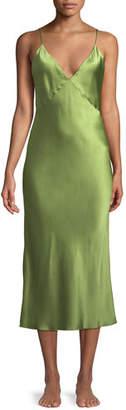Issa Olivia Von Halle Sleeveless Silk Nightgown