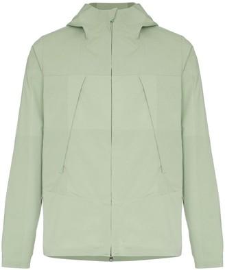 Descente Allterrain zipped hooded jacket