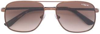 Vogue tonal brown aviators