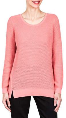 Haggar Mixed Stitch Sweater
