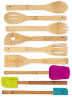 Core Bamboo 9-Piece Bamboo Kitchen Utensil Set