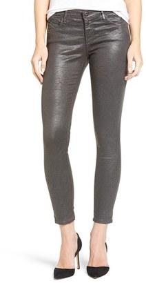 Women's Ag 'The Legging' Coated Ankle Jeans $255 thestylecure.com