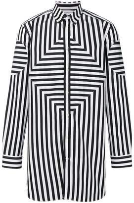 Givenchy oversized striped shirt