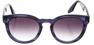 Barton Perreira Neneh Tinted Round Sunglasses