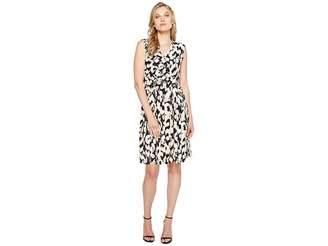 Ellen Tracy Twist Front Dress Women's Dress