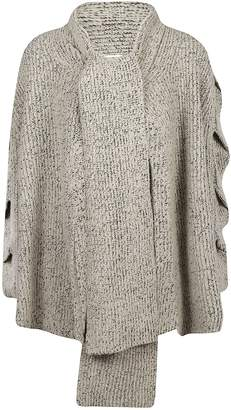 See by Chloe Tie Neck Cardigan