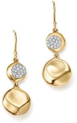 Ippolita 18K Yellow Gold Onda Diamond Pebble Drop Earrings - 100% Exclusive