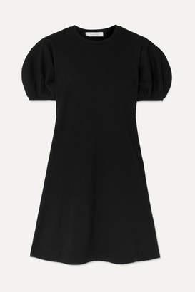 Beaufille Leda Ribbed Cotton-blend Jersey Mini Dress - Black