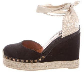 Marc Jacobs Marc Jacobs Satin Espadrille Wedges