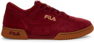 Fila Red Original Fitness Premium Low-Top Sneakers