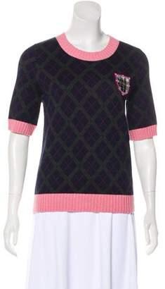 Chanel Paris-Edinburgh Cashmere Top