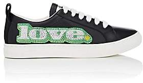Marc Jacobs Women's Empire Leather Sneakers-Black