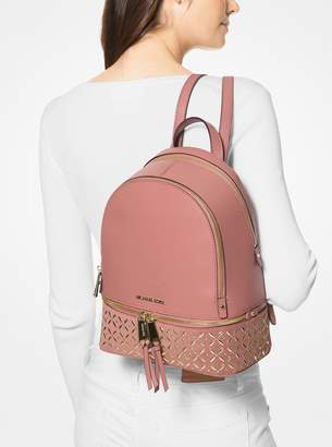 MICHAEL Michael Kors Rhea Medium Embellished Leather Backpack