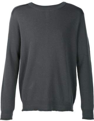 Wooyoungmi exposed seam detail jumper