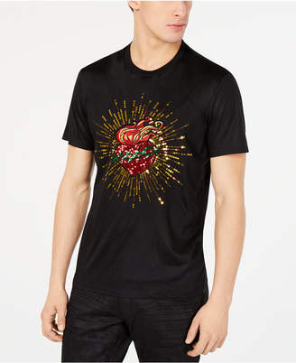 INC International Concepts I.n.c. Men Heart Graphic T-Shirt