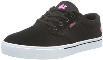 Etnies Black-White-Pink Jameson 2 Womens Shoe $65 thestylecure.com