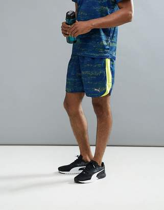 Puma Nocturnal Graphic Shorts In Navy 51600902