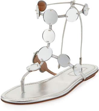 Aquazzura Indian Moon Flat Sandal