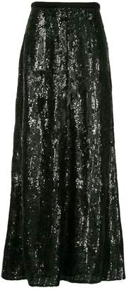 LAYEUR Barbara sequin embellished skirt