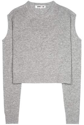 McQ RIk10 wool and cashmere cut-out sweater