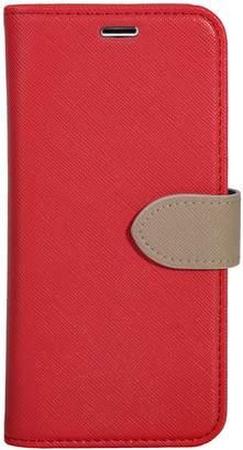 Blu Element 2-in-1 Folio iPhone 8/7/6S/6 Red/Butterum Phone Case
