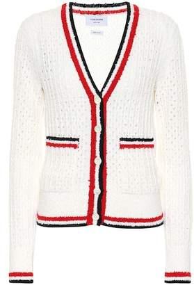 Thom Browne Wool-blend cardigan