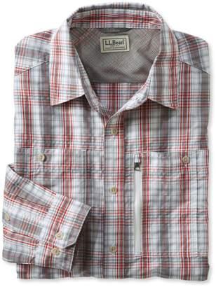 L.L. Bean L.L.Bean Men's Cool Weave Shirt, Plaid