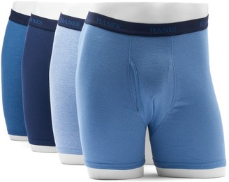 Hanes Big & Tall 4-pack Dyed Boxer Briefs