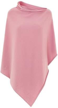 Harrods Asymmetric Embellished Poncho