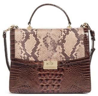 Brahmin Toledo Simone Top Handle Leather Satchel - Brown $375 thestylecure.com