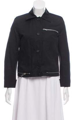 Proenza Schouler Collared Zip-Up Jacket