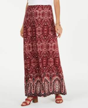 Style&Co. Style & Co Petite Printed Maxi Skirt, Created for Macy's