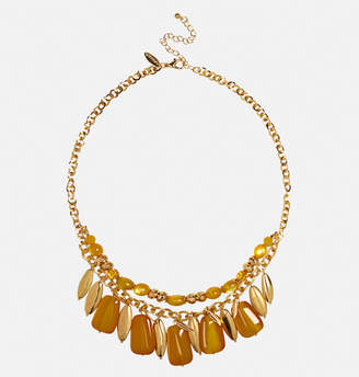 Avenue Harvest Bead Gold Chain Necklace