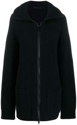 Haider Ackermann Oversized Thick Knit Cardigan