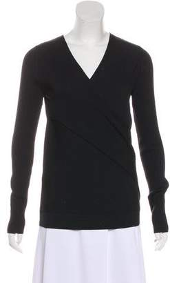 DKNY Ribbed Long Sleeve Sweater