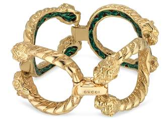 Gucci Dionysus bracelet in yellow gold