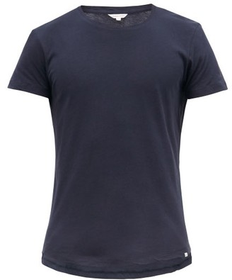 Orlebar Brown Ob T Cotton Jersey T Shirt - Mens - Navy