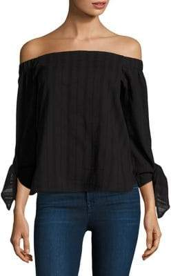 Bailey 44 Yarrow Off-The-Shoulder Cotton Top