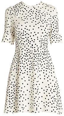 Stella McCartney Women's Scattered Polka Dots Dress
