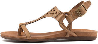 Django & Juliette Besha Tan Sandals Womens Shoes Casual Sandals-flat Sandals