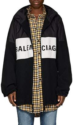 Balenciaga Women's Logo-Print Denim Jacket