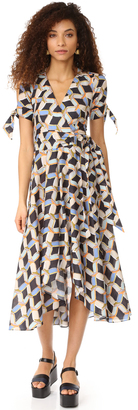 Milly Chain Print Valerie Dress $650 thestylecure.com